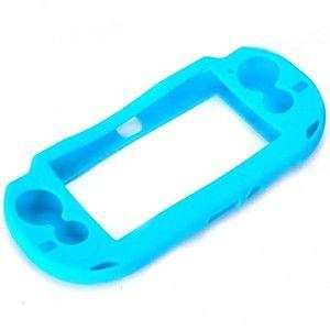 FUNDA SILICON PS VITA 1000 AZUL