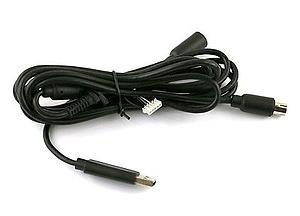 CABLE CONTROL XBOX 360 CON BREAK AWAY NEGRO