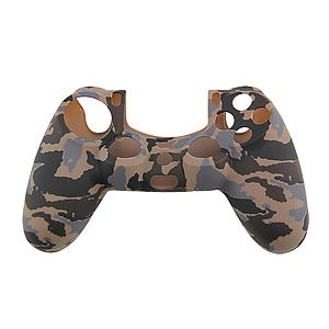 FUNDA SILICON CONTROL PS4 CAMUFLAJE CAFE