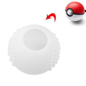 FUNDA SILICON NINTENDO SWITCH POKEBALL BLANCA