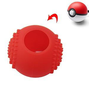 FUNDA SILICON NINTENDO SWITCH POKEBALL ROJA
