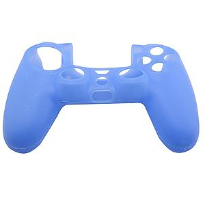 FUNDA SILICON CONTROL PS4 AZUL