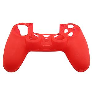 FUNDA SILICON CONTROL PS4 ROJA